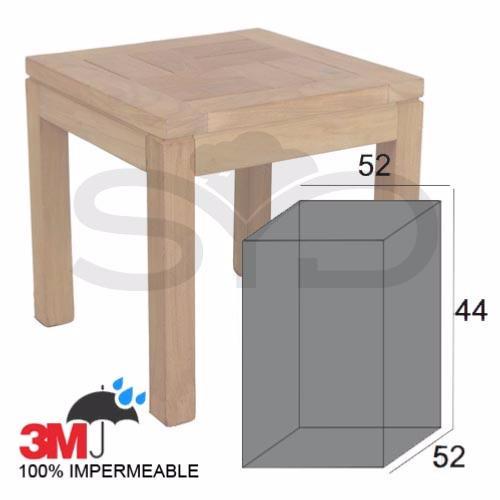 Funda mesa auxiliar peque a de exterior jard n o terraza for Fundas para mesas de jardin