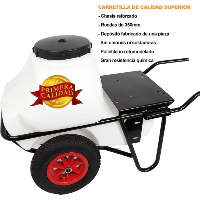 Carretilla Sulfatadora 100l Motor 4t 30bar 12l