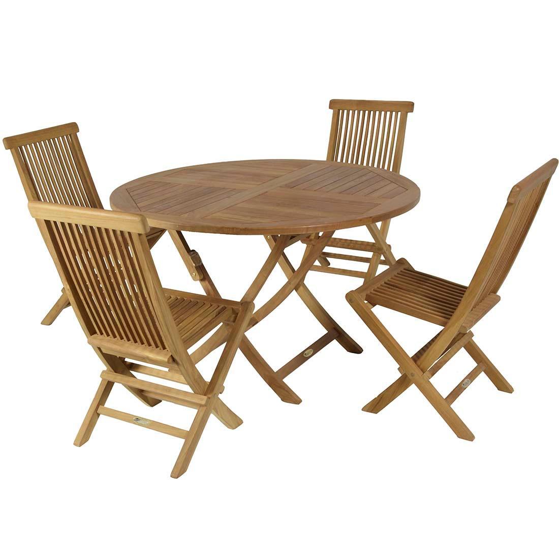 Set teca conjunto de teca oferta los mas baratos calidad - Mesas de teca exterior ...