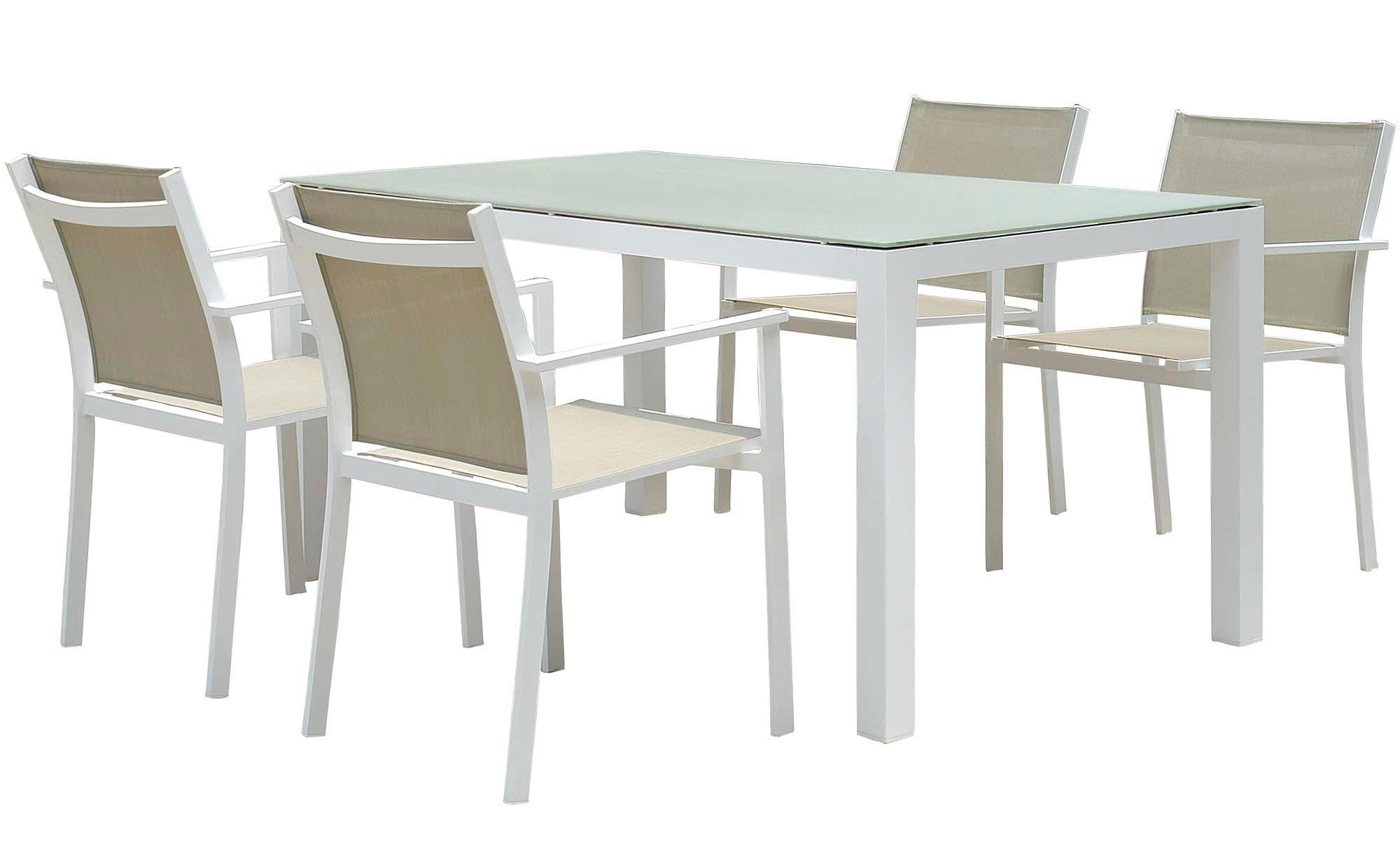 Conjunto concept aluminio de jard n y exteriores oferta for Conjunto de jardin baratos