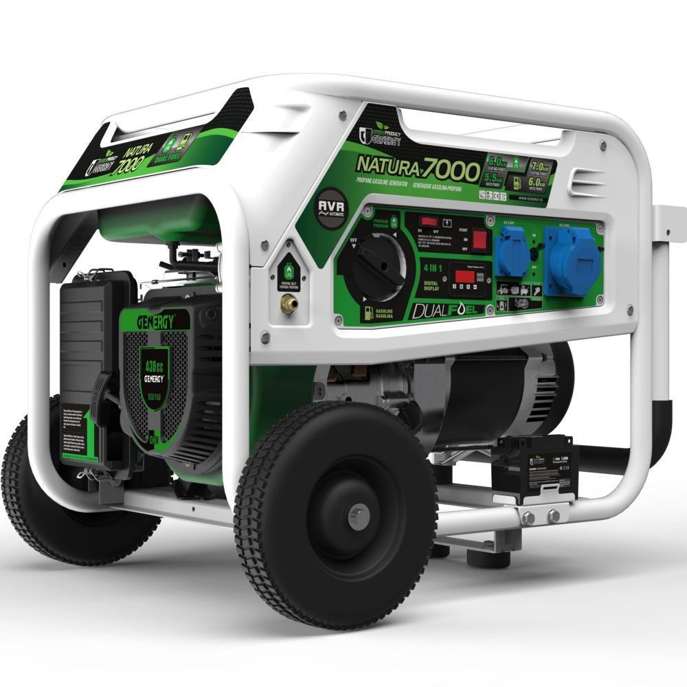 Generador a gas propano lpg con arranque el ctrico natura - Generador electrico a gas butano ...